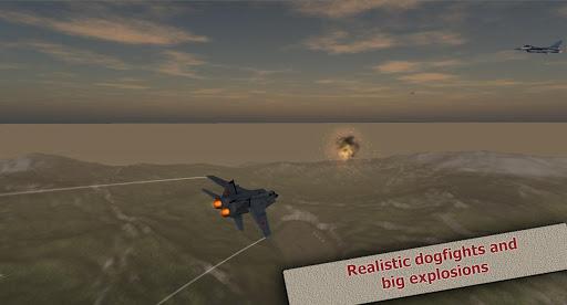 Jet Dogfights Flight Sim Lite