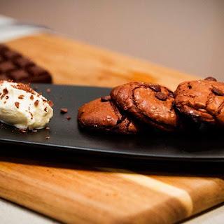 Dark Chocolate Brookies.