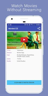 Movies123 - Free Download Full HD Movies - náhled