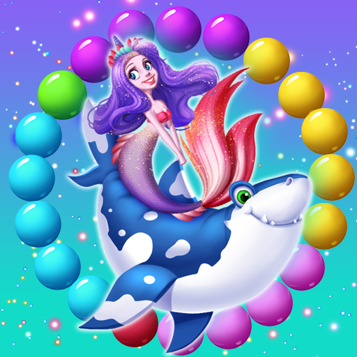 Mermaid Rescue Fish Pop Shooter