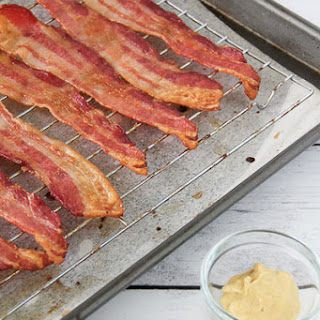 Oven Roasted Candied Bacon.