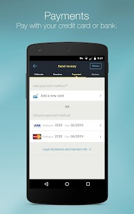 Western Union International: Send Money & Transfer- screenshot thumbnail
