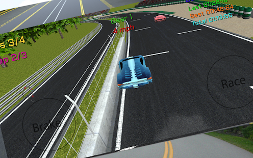 Fast Racing Turbo 3D-Free screenshot 8