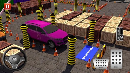 Modern Car parking simulator –Crazy car stunt 2019 screenshot 5