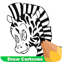 How To Draw Cartoons APK icon