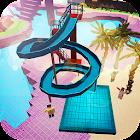 Water Park Craft GO: Wasserrutsche Bau-Abenteuer icon