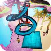 Воден парк Craft: Waterslide Сграда Adventure 3D