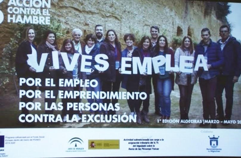 El delegado de Fomento abre las actividades de Vives Emplea Algeciras