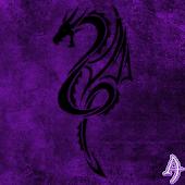 Kit Kat Dragon Purple Theme