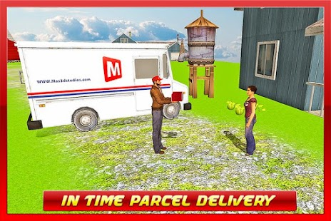 TRANSPORT TRUCK: MAIL DELIVERY screenshot