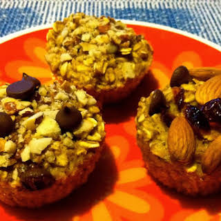 Baked Oatmeal To Go Muffins.