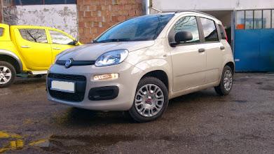Photo: Nowy Fiat Panda ( 3) przyciemnianie szyb kraków venaplex.pl