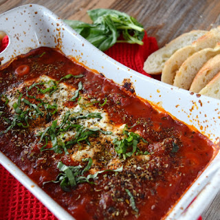 Baked Goat Cheese And Marinara Sauce Recipes