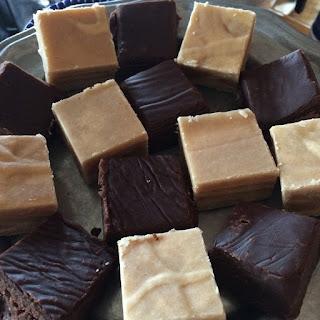 Chocolate and Peanut Butter Fudge Recipe