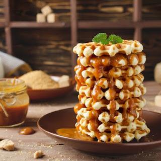 Dulce de Leche Waffles.