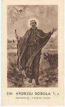 Photo: Obrazek o wym. 6.5 x 11 cm. (sepia) Na odwrocie modlitwa do Świętego. WAM Kraków i logo.