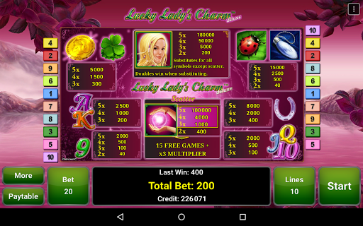 Lucky Lady's Charm Deluxe Slot  screenshots 13