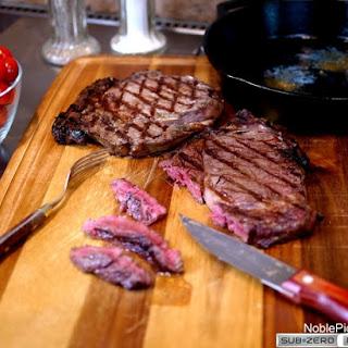 Grilling the Perfect Rib Eye Steak.