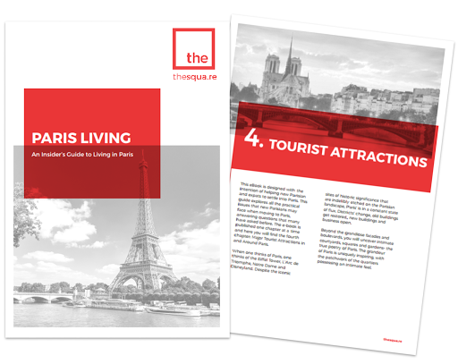 Paris relocation services : tourist attractions