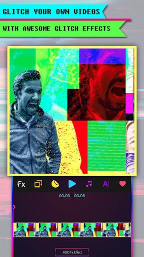 Glitch Art-Video Editor VHS
