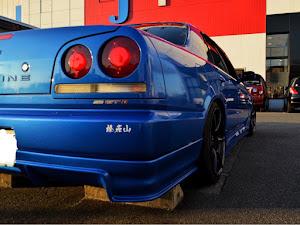 スカイライン R34 HR34改 GT-tのカスタム事例画像 りきまるさんの2019年10月26日17:21の投稿