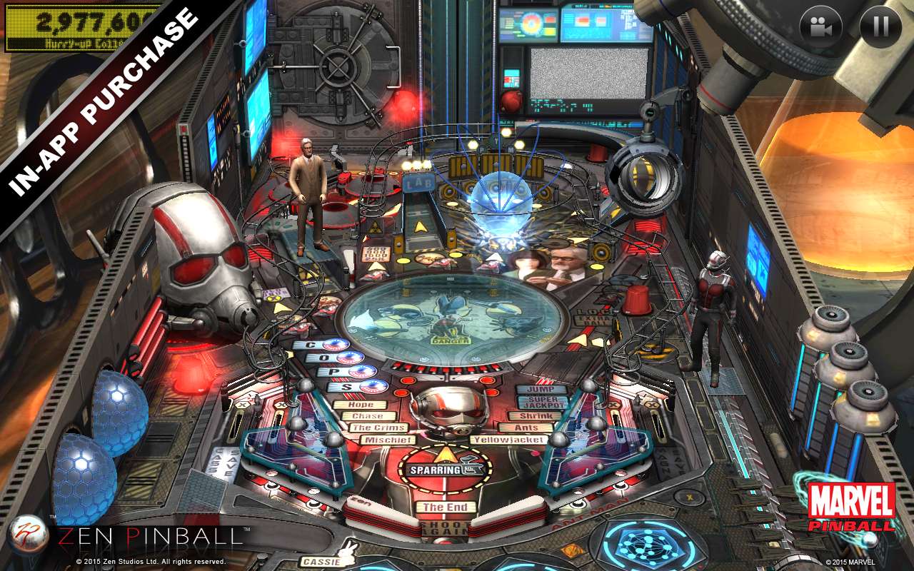 Zen Pinball- screenshot