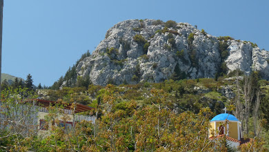 Photo: View of Zia, Kos. Vista di Zia, Kos