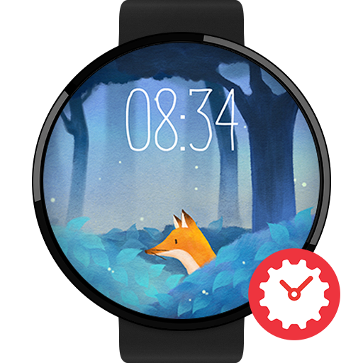 Mysterious Forest watchface by Gemma Icon