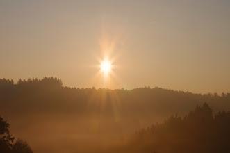 Photo: Sunrise SonnenaufgangPENTAX K-7 Pentax SMC-FA 50mm / f1,4 Objektiv ISO: 100 Belichtung: 1/200 Sek. Blende f/16.0 Brennweite: 50mmDatum und Uhrzeit (Original)2011:10:18 08:08:13