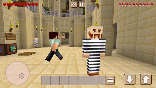 Prison Craft - Jailbreak & Build  captures d'écran 1