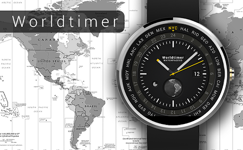 World timer watch face android apps on google play world timer watch face screenshot thumbnail gumiabroncs Choice Image