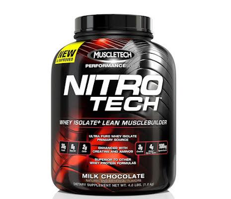 Muscletech Nitro-Tech Performance, 1,8kg - Milk Chocolate
