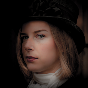 by John Walton - People Portraits of Women ( heritagefocus, portrait )