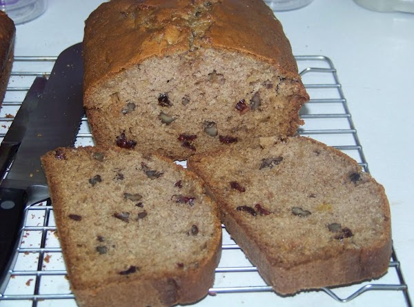 Gingered Pear And Cranberry Bread Recipe