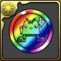 ウエハーマンメダル【虹】