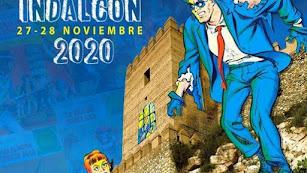 Cartel de las XXIII Jornadas del Cómic de Almería.
