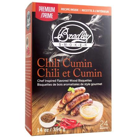 Chili-Kummin 48 st, Bradley Smoker