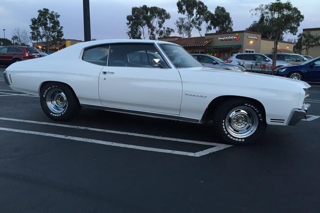 1970 Chevelle Malibu Hire CA