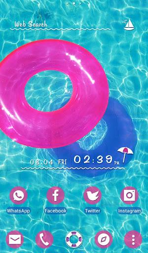 Cute Wallpaper Pink Floaty Ring Theme 1.0.0 Windows u7528 1