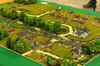 Photo: La battaglia del Boyne (il campo di battaglia visto da nord-ovest)