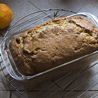 Bourbon Pecan Banana Bread