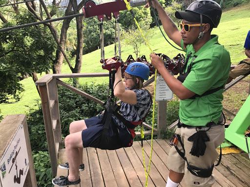zipline-in-st-kitts-1.jpg - Getting ready for a zipline ride in St. Kitts!