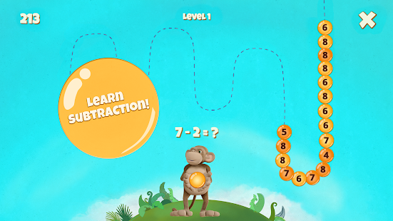 10monkeys Bubbles | Subtraction Screenshot