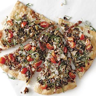 Soppressata-Mushroom Pizza