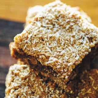 Almond Coconut Oat Bars (Gluten Free, Vegan)