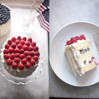 Fourth of July Berry Cake Recipe