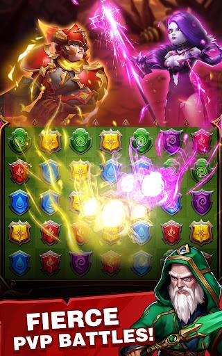Conqueror & Puzzles : Match 3 RPG Games 1.3.0 Mod screenshots 5