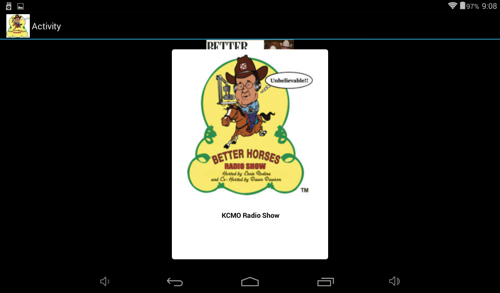 Better Horses Radio - KCMO- screenshot