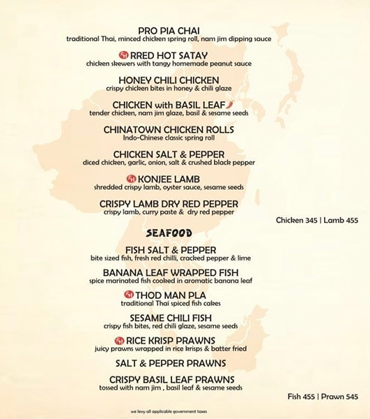 Rred Hot Cafe menu 3