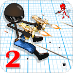 Sniper Shooter Stickman 2 Fury: Gun Shooting Games Icon
